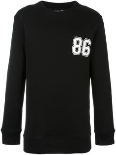 '86' sweatshirt  Helmut Lang