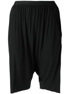 шорты с заниженным шаговым швом Rick Owens Lilies