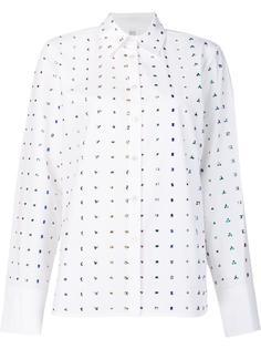 rhinestone embellished shirt Rosie Assoulin