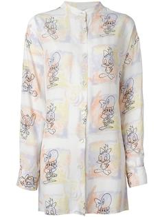 cartoon printed shirt Jc De Castelbajac Vintage