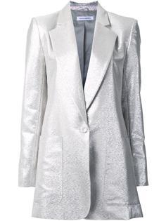 пиджак с отделкой металлик и застежкой на пуговицу Bianca Spender