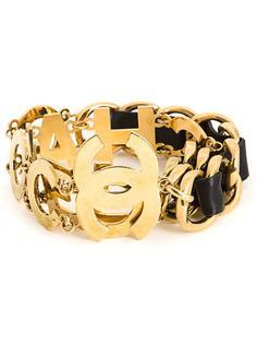 цепочный ремень с логотипом Chanel Vintage