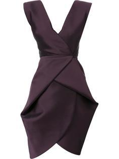 приталенное платье с V-образным вырезом Bianca Spender