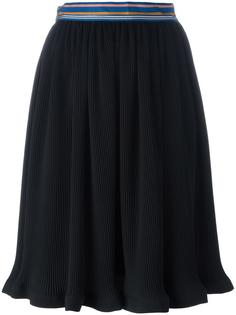 ribbed A-line skirt Paul Smith