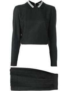 two-piece snap dress Maison Kitsuné
