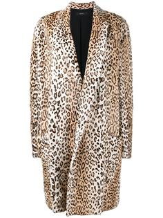 tiger print coat Ellery