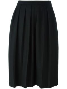 pleated midi skirt YMC
