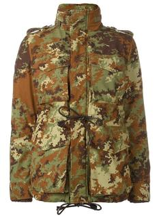 camouflage padded military jacket Dsquared2