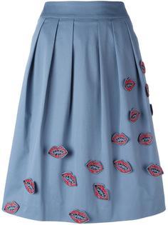 юбка с аппликацией 'Kiss' Jimi Roos