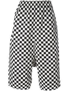 checked cropped trousers Comme Des Garçons Vintage