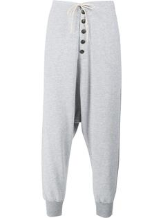 drop crotch trousers Greg Lauren
