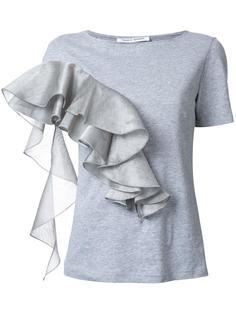 футболка с оборками 'Carousel'  Bianca Spender