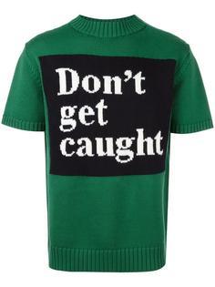 'Don't Get Caught' jumper Roundel London