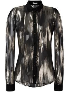 sheer shirt Emanuel Ungaro