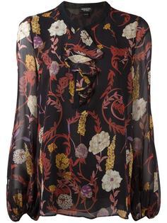 floral print longsleeved blouse Giambattista Valli
