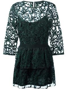 кружевное платье  Christian Pellizzari