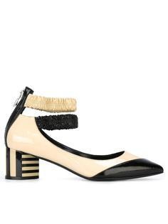 туфли-лодочки с двойным ремешком Pierre Hardy