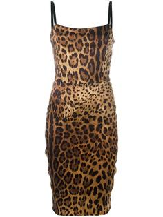 cheetah printed dress Dolce & Gabbana Vintage