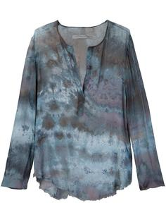 printed v-neck blouse Raquel Allegra