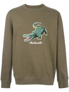'alligator' patch sweatshirt Maharishi