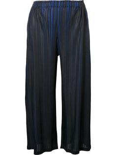 'Brush Marks' trousers Pleats Please By Issey Miyake