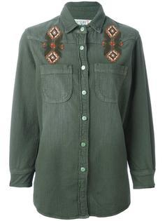 рубашка с вышивкой Sandrine Rose