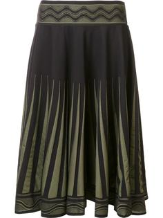 'A-Poc Brush Marks' skirt Pleats Please By Issey Miyake