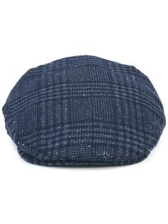 checked beret Hackett