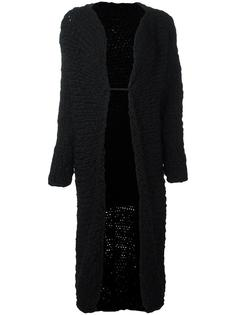 knitted long coat Yohji Yamamoto Vintage