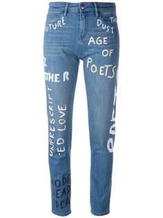 джинсы с принтом Each X Other