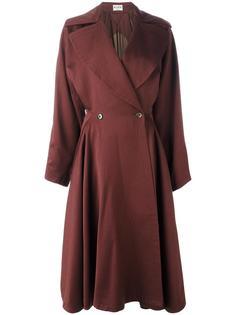 full flared skirt coat Alaïa Vintage