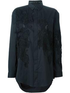 рубашка с кружевными панелями Barbara Bui