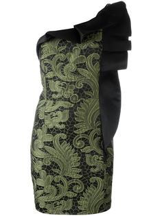 платье на одно плечо  Christian Pellizzari