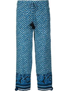 укороченные брюки 'Fiore' Figue