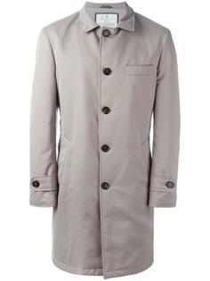 пальто с высокой горловиной на пуговицах Brunello Cucinelli