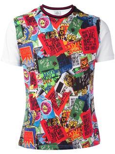 'signs' print T-shirt Vivienne Westwood Man