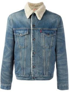 shearling denim jacket  Levi's Vintage Clothing