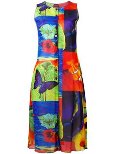 floral sleeveless dress Kenzo Vintage
