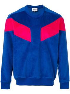 velvet sweatshirt Christopher Shannon