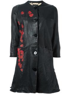 пальто с принтом в Японском стиле Pihakapi