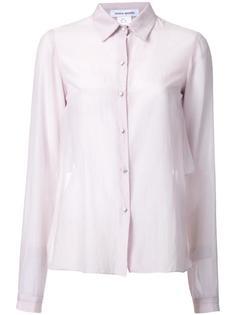полупрозрачная рубашка с длинными рукавами Bianca Spender