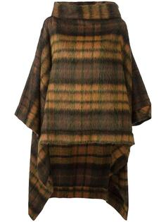 checked poncho Vivienne Westwood Anglomania