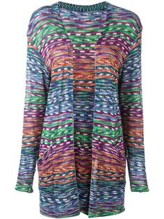 open front knitted cardigan Missoni Vintage