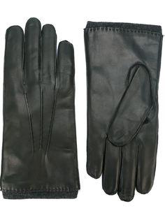 кожаные перчатки Orciani