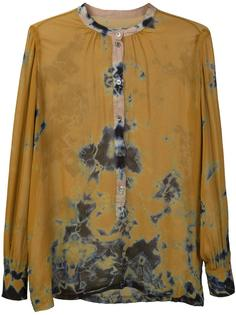 tie dye blouse Raquel Allegra