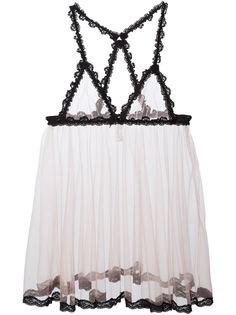 кружевное прозрачное платье  Fleur Du Mal