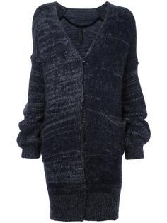 ruched sleeve cardi-coat Ilaria Nistri