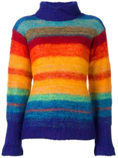 rainbow knit jumper Kansai Yamamoto Vintage