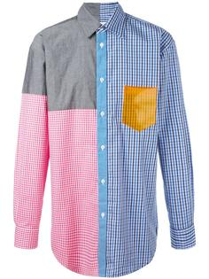 panelled pattern shirt Christopher Shannon
