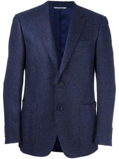 woven single breasted blazer Canali